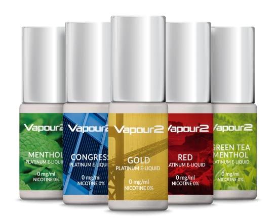 Vapour2 e-liquid range