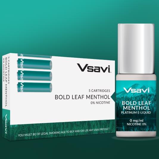 V2 Bold Leaf Menthol