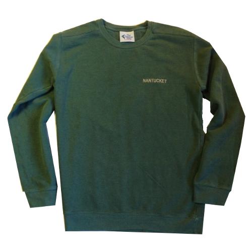Nantucket Embroidered Crew-neck Sweatshirt 322747c06