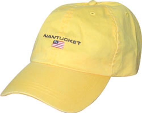 6171f034d30 Nantucket Flag Baseball Cap - The Sunken Ship
