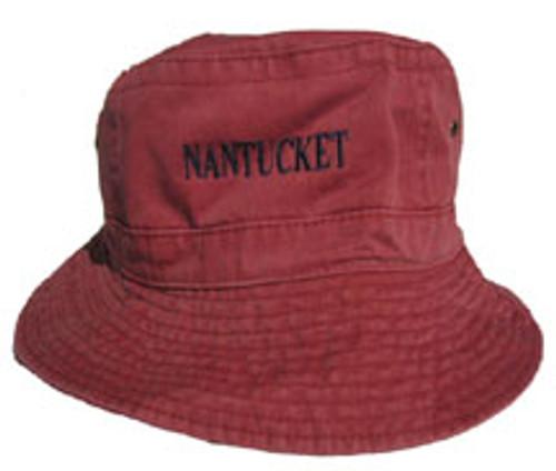 Nantucket Capitals Bucket Hat - The Sunken Ship 1e0c2ea7cf4