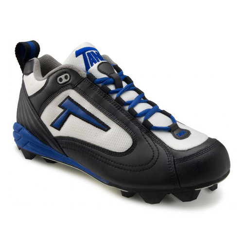 Black/White/Royal Cleats