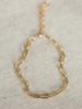 Jonesy Wood Layla Paperclip Chain Bracelet