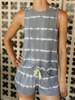 PJ Salvage Happy Days Tie Dye Lounge Shorts