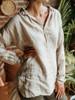 CP Shades Petra Loose Fit Linen Tunic Shirt