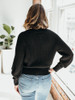 525 America Relaxed V Neck Buttoned Cardigan