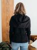 Prairie Underground - Cloak Hoodie in Black