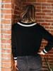 525 America Cotton Varsity V Neck Cardigan