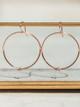 Veronica & Harold Jennifer Knotted Hoop Earrings