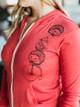 Revival Ink Hedgehog Bicycle Zip Hoodie Sweatshirt