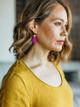 Daly Bird Mini Evy Leather Earrings