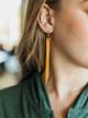 Daly Bird Georgia Leather Drop Earrings