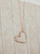 Veronica & Harold Monti Heart Necklace