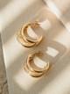 Jonesy Wood Beatrix Triple Hoop Earrings