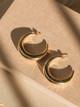 Jonesy Wood Brighton Hollow Hoop Earrings