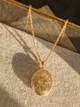 Jonesy Wood Marine Floral Locket Necklace