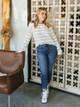 OAT NY High Rise Skinny Jeans
