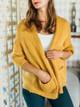 Tendencies European Cropped Sleeve Cardigan