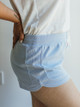 PJ Salvage Soft Blue Everyday Lounge Shorts