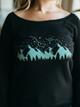 Revival Ink Mountain Constellation Sweatshirt