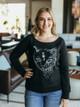 Revival Ink Luna Moon Cat Sweatshirt