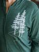 Revival Ink Evergreen Zip Hoodie Sweatshirt