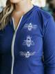 Revival Ink Honey Bees Zip Hoodie Sweatshirt