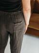 Tendencies European Straight Leg Linen Pants