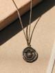 Pyrrha Rainbow Talisman Necklace