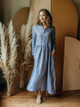 CP Shades Justine Loose Fit Linen Shirt Dress