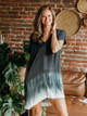 River + Sky Brooklyn Tie Dye Cocoon Dress with Pockets