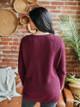 525 America Emma Oversize Crewneck Shaker Sweater