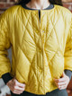 Lilla P Collarless Diamond Quilted Puffer Jacket