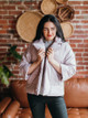Lilla P Notch Collar Quilted Puffer Jacket