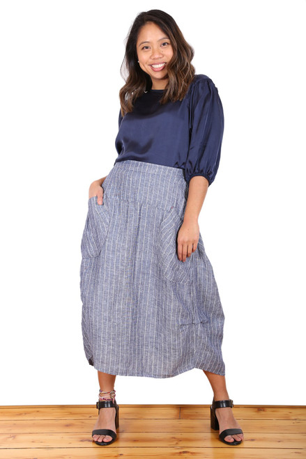 Milwaukee Harbour Linen Skirt