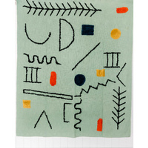 Throw Blanket - Mahi - Green - SP161