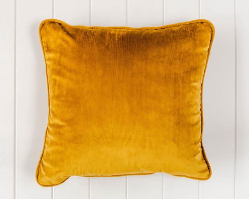 Indoor Cushion - Gold Velvet