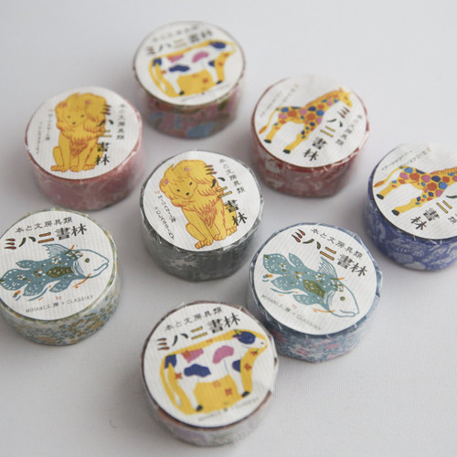 Japanese washi tape in assorted colours including blue, red, pink and floral