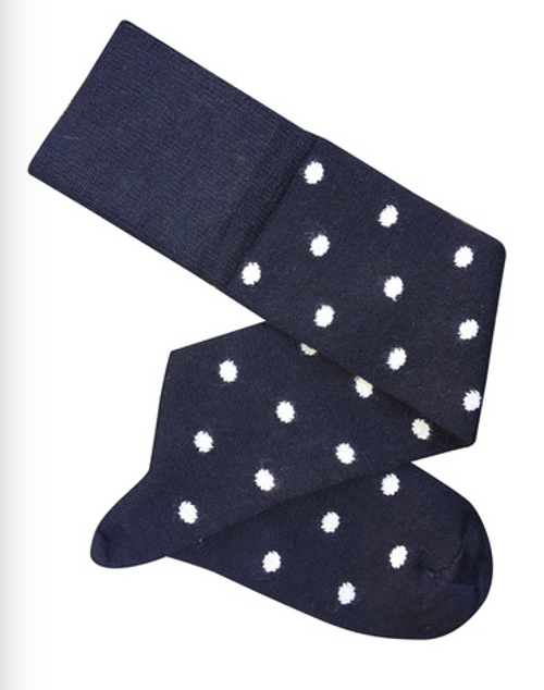 Dotty Knee High Socks