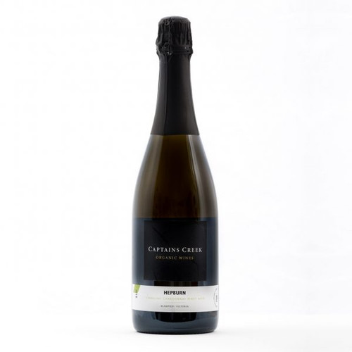 Organic sparkling wine, made in Goldfields