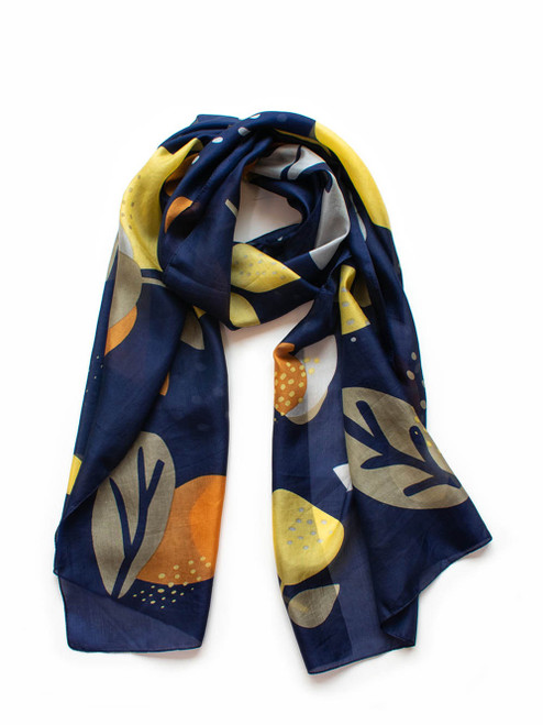 Abstract Floral  Scarf #FLO2