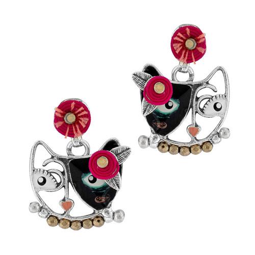 Chat Va Bien Earrings - 22974