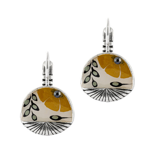 Ocre Earrings - 06737