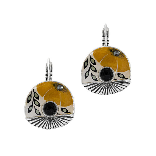Ocre Earrings - 06739