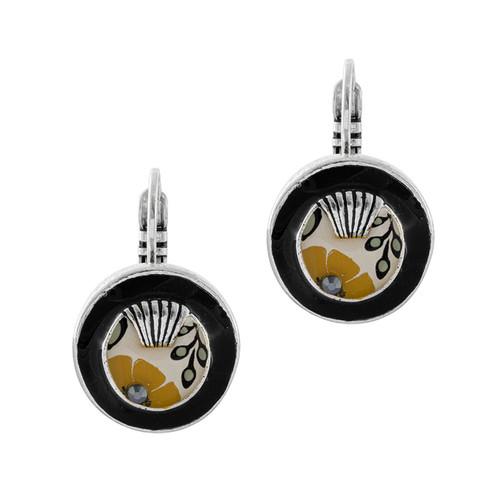 Ocre Earrings - 06738