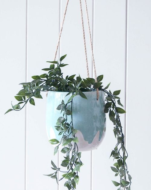 Hanging Planter - Dripping Jade - HG193