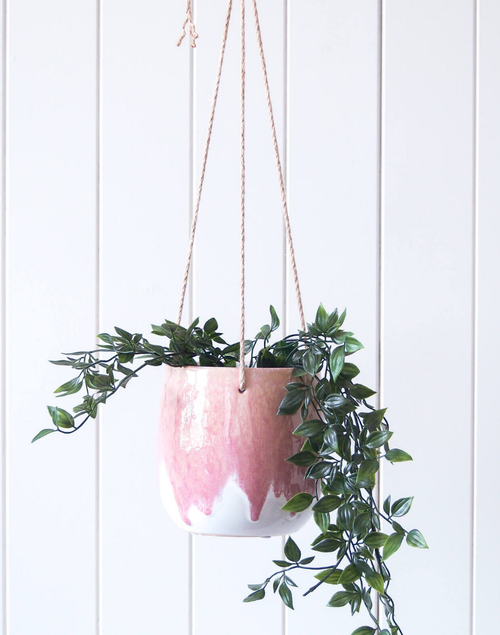 Hanging Planter - Dripping Rose - HG199