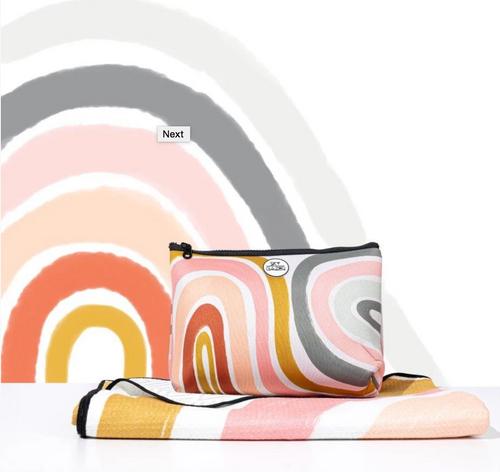 The Rainbow Beach Towel -