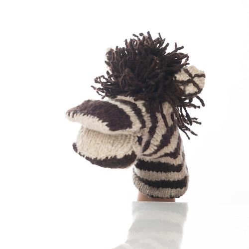 Hand Puppet -zebra