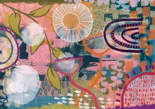 A Walk In The Park Giclee Print